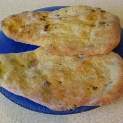 Peshawari Naan Bread (Bread Machine)