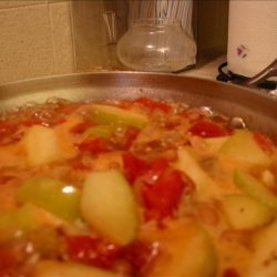 Apple Bacon Tomato Soup