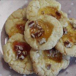 Tasty Holiday Thumbprint Cookies