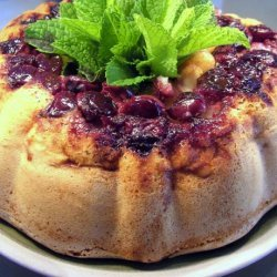 Gluten-Free Apple and Sour Cherry Cake recipe