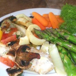 Red Snapper with Fennel & Mushrooms