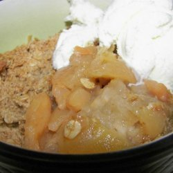 Homemade Apple Crisp or Apple Crumble