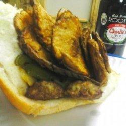 Charlie's Italian Sausage Sandwich