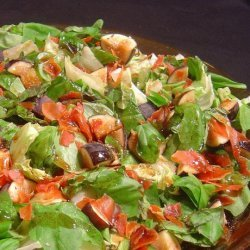 Fig and Crispy Prosciutto Salad