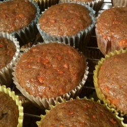 Basic Carrot Muffins