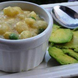 Ecuadorean Potato Soup recipe