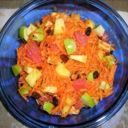 Fruit & Carrot Salad recipe