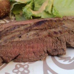 Mongolian Flank Steak from Cuisine Lite