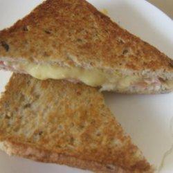 Smoked Ham and Cheese Toasties