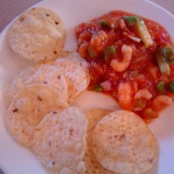 Company's in the Driveway Shrimp and Avocado Salsa