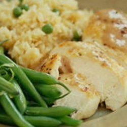 Chicken with Apple Rice Pilaf