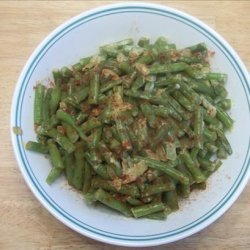 French Beans With Sour Cream and Paprika
