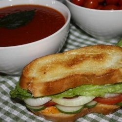 Smashed Veggie-Cheese Sandwiches