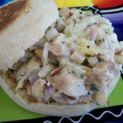 Pineapple Chicken Salad Sandwich