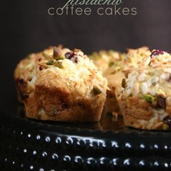 Pistachio Coffee Cake
