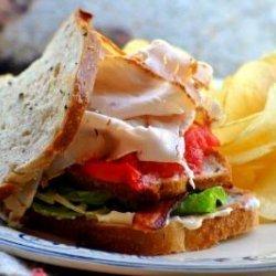 Ww 8 Points - Double Turkey Club Sandwich