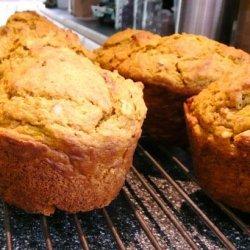 Harvest Time Pumpkin & Oatmeal Muffins