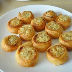 Marmite and Cheese Whirls recipe