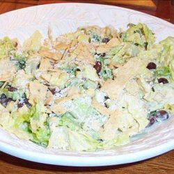 The Houstonian's Southwest Caesar Salad recipe