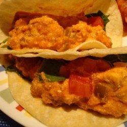 Chicken & Salsa Tacos