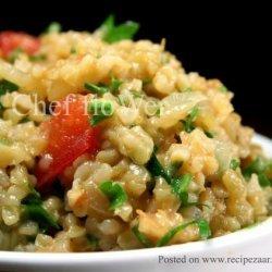 Bulgur Wheat Salad - Turkish Style