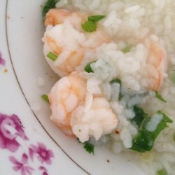 Thai Shrimp and Rice Soup