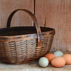 Grandma's Egg in a Basket