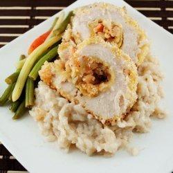 Garlic Stuffed Chicken Breast