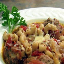 Meatball and Macaroni Stew (Low Fat/Low Cal)