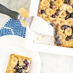 Blueberry-Oatmeal Breakfast Cake