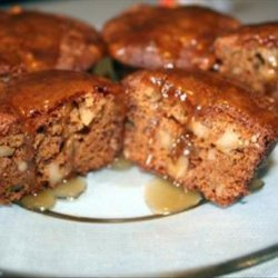 Apple Muffins with Sauce