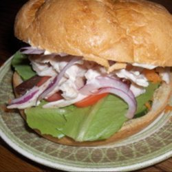 Chicken Sandwiches With Lemon Mayonnaise recipe