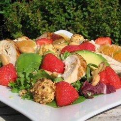 Strawberry and Orange Chicken Salad