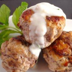 Lamb Meatballs With Pomegranate Sauce