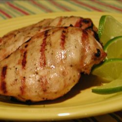 Spicy Lime Marinated Grilled Chicken Breasts