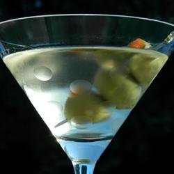 Vodka Martini Cocktail