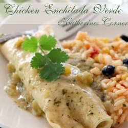 Chicken Enchiladas Verdes