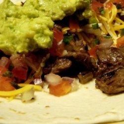 Carne Asada Burrito, San Diego Style