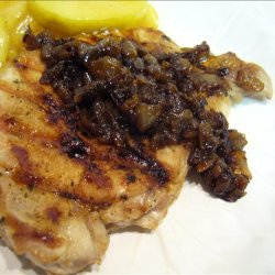 Savory Pork Chops With Caramelized Onions