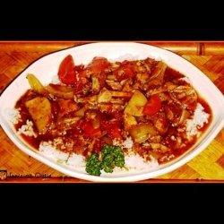 Crock Pot Fish Stew & Rice