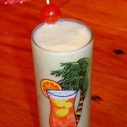 Banana Pina Colada Smoothie