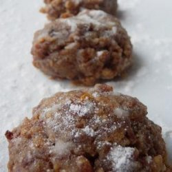 Cinnamon-Walnut Cookies (Vegan)