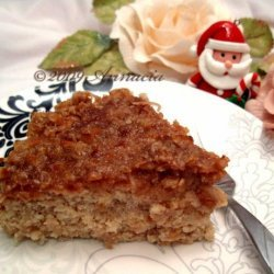 Oat Cake With Coconut Topping (Low Fat)
