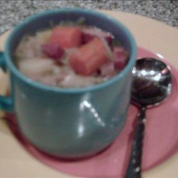 Crock Pot Sauerkraut Soup