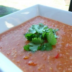 Big Batch Red Lentil Soup