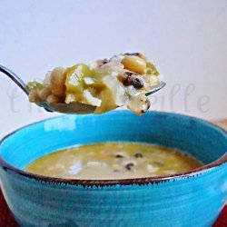 Coconut Milk Bean Soup