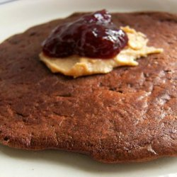 Healthy Cocoa Chocolate Chip Banana Pancakes