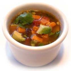 Curried Red Lentil Sweet Potato Soup