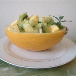 Fruit Salad With Citrus-Mint Dressing