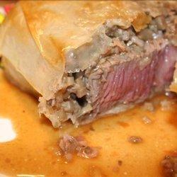 Filet Mignon En Phyllo Avec Sauce Madere